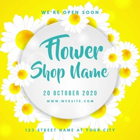 Flower Shop Video Ad Template