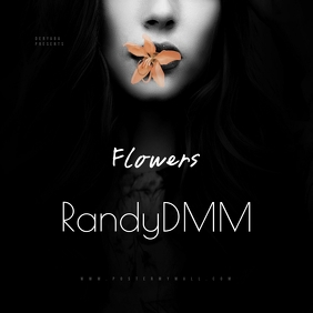 Flowers Mixtape CD Cover Template