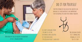 Flu Shot Flyer Template