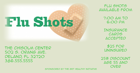 Flu Shot Flyer Template