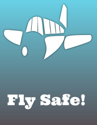 Fly Safe Poster