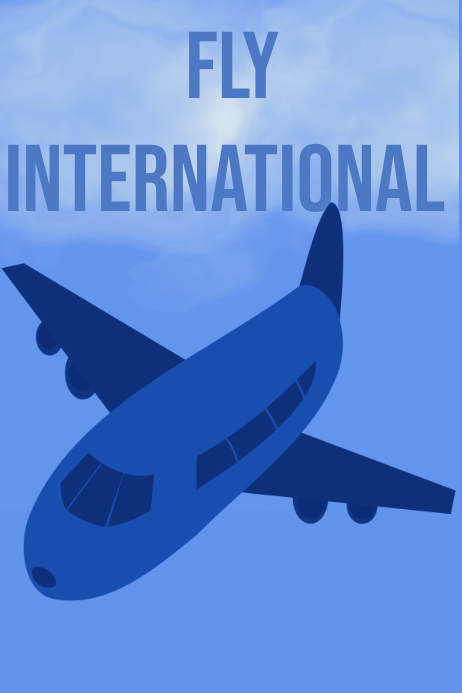 Fly International poster