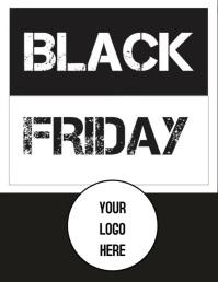 Flyer Black Friday Pamflet (VSA Brief) template