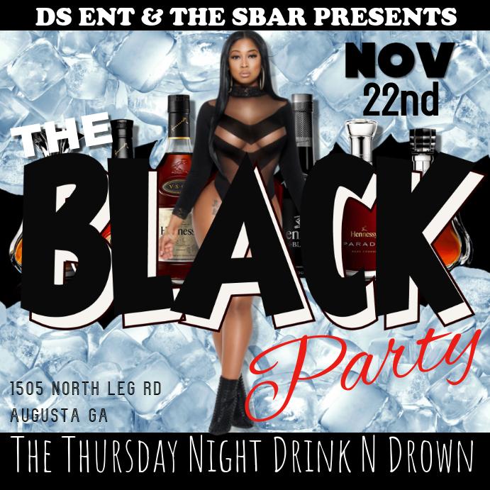 Flyer Black Party