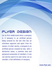 Flyer + Company Profile