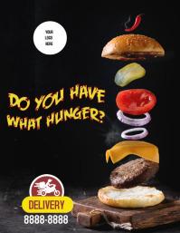 Flyer Hamburger