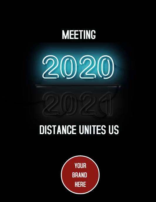 Flyer Meeting Instagram template