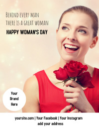 Flyer of WOMAN'S day