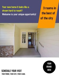 Flyer Properties Pamflet (VSA Brief) template