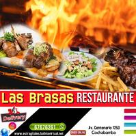 flyer restaurant Instagram-Beitrag template