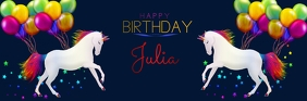 flyer template happy birthday Email Header