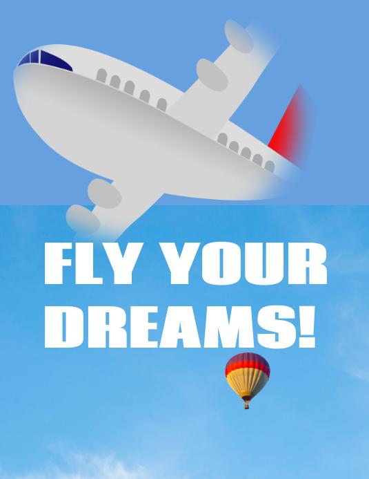 Flying poster
