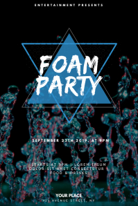 Foam Party Flyer Design Template