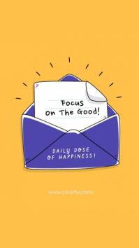 Focus on good! Indaba yaku-Instagram template