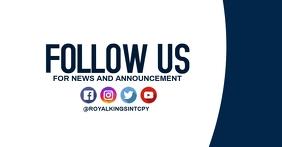 follow us flyer