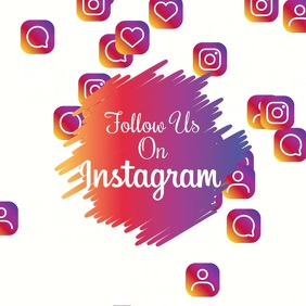 Follow Us Instagram Video Template