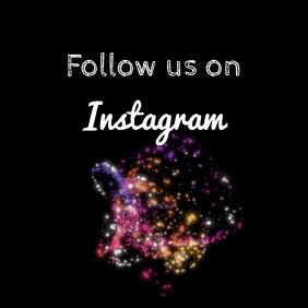Follow us on Instagram video animation