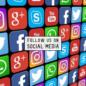follow us social media video