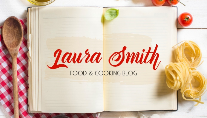 Food & Cooking blog header template