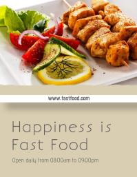 Food & Restaurants Flyer 2 template