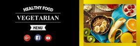Food Banner Template