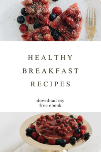 food blogger pinterest template design