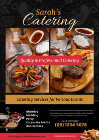 Food Catering Flyer A4 template