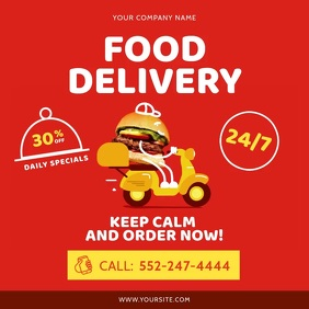 Food delivery at home