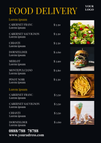 Food Delivery Price List Offer Promotion Home