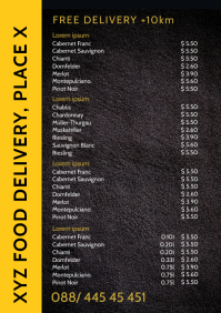 Food Delivery Service Price List Truck
