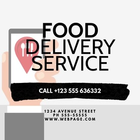 FOod Delivery Service Video Ad Template