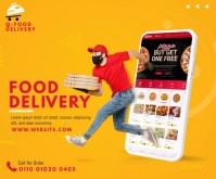 Food Delivery Services Medium Reghoek template