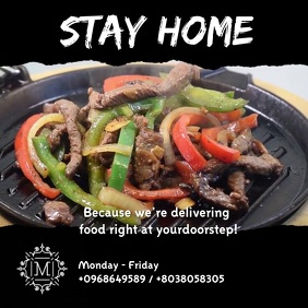 food delivery VIDEO AD