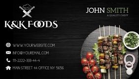 FOOD Kartu Bisnis template
