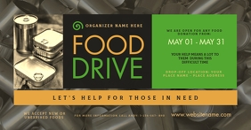 Food Drive Facebook Shared Image template