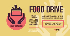 Food Drive Facebook Shared Image