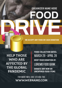 Food Drive Flyer A4 template