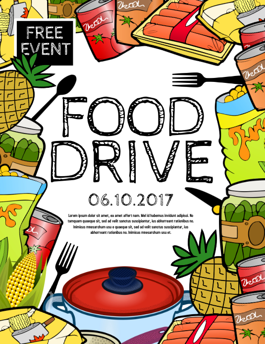 Copy of Food Drive | PosterMyWall