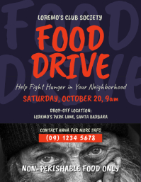 4 330 customizable design templates for can food drive postermywall