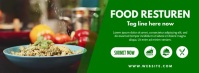 Food Facebook Cover Ikhava Yesithombe se-Facebook template