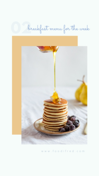 Food Feature Instagram Story Template