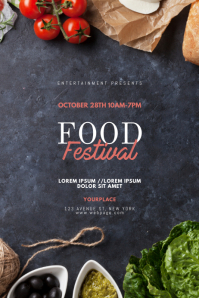 Food Festival Flyer Design Template
