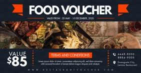 Food Gift Certicate Voucher