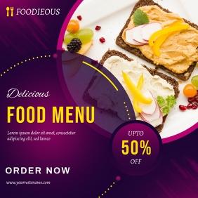 food Instagram Template