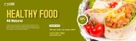 Food LinkedIn career cover photo template