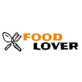 food lover app or youtube channel logo template