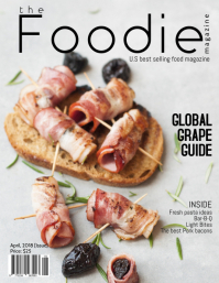 Food Magazine Cover Template Pamflet (VSA Brief)
