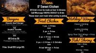 Food Menu Digital Display (16:9) template