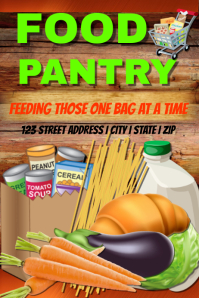 customizable design templates for pantry postermywall