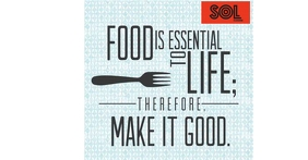 Food Quote Imagen Compartida en Facebook template